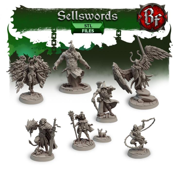 STL Sellswords's Cover