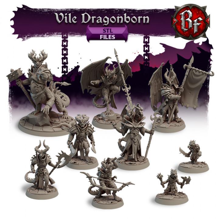 STL Vile Dragonborn's Cover