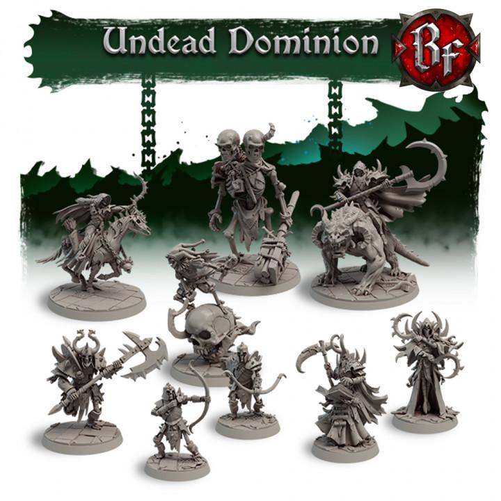 STL Undead Dominion's Cover
