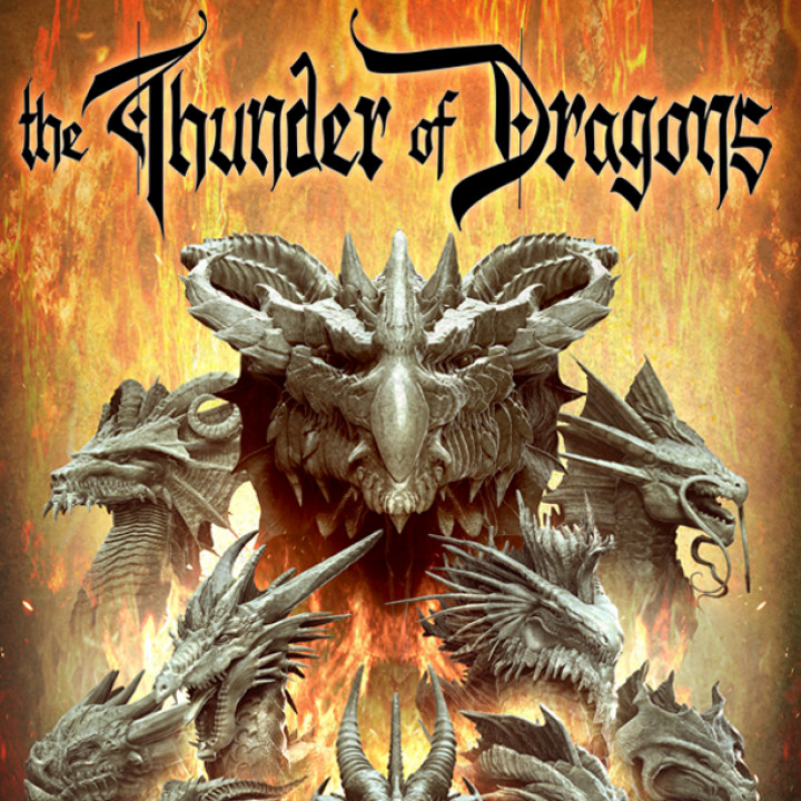 The Thunder of Dragons Stories and Stat Blocks's Cover