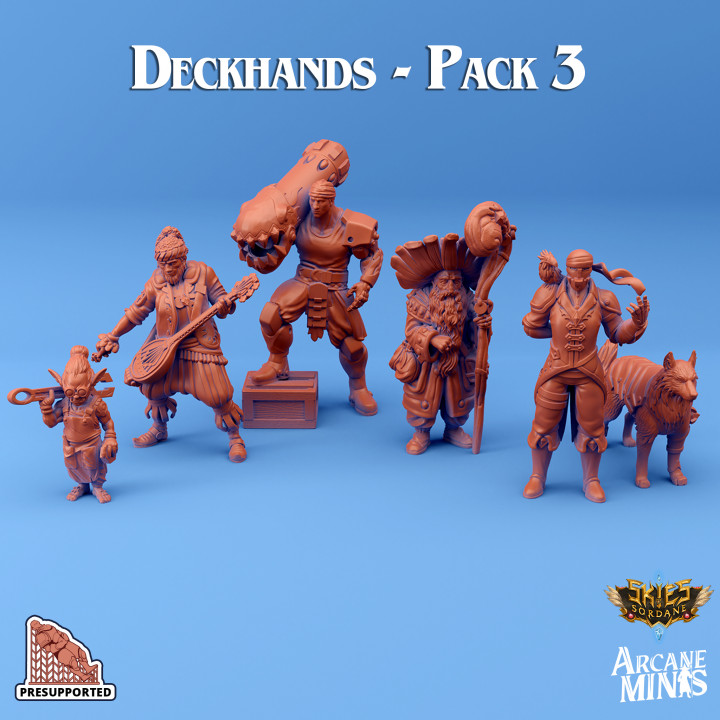 Deckhands - Pack 3's Cover