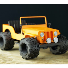WILLYS JEEP - Fully printable
