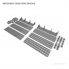 Recovery traction tracks
