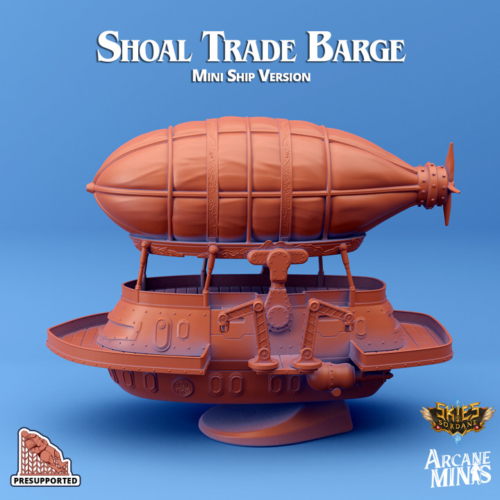 Shoal Trade Barge - Mini Ship's Cover