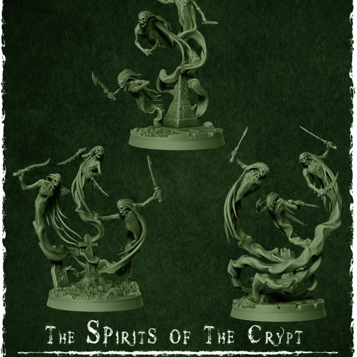 The Spirits of the Crypt's Cover