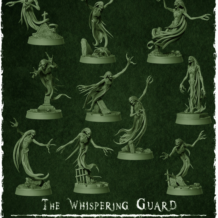 The Wishpering Guard's Cover