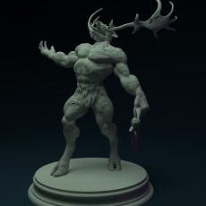 230x230 josh clithero baphomet miniature dnd beast devil front