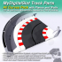 MyDigitalSlot All Curves Pack, 3D printed, DIY track parts for your 1/32 Slot Car Racing Game image