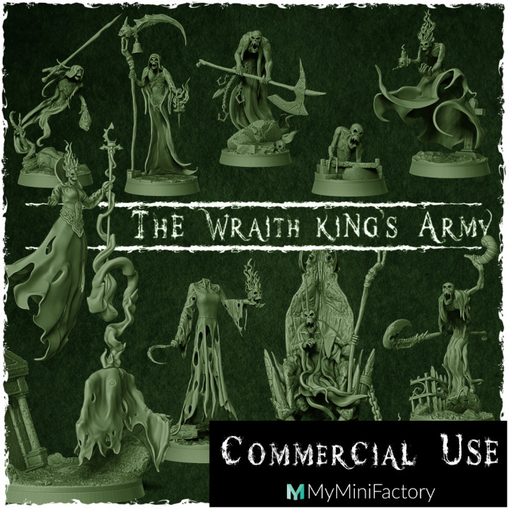 info - The Wraith King's Army - Commercial's Cover