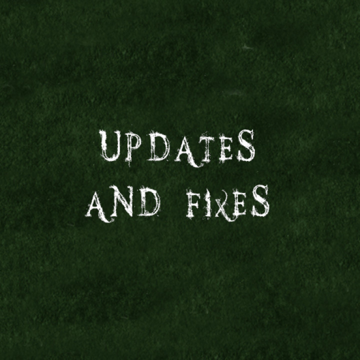Updates and fixes's Cover