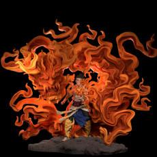 Fire spirit of warrior mage