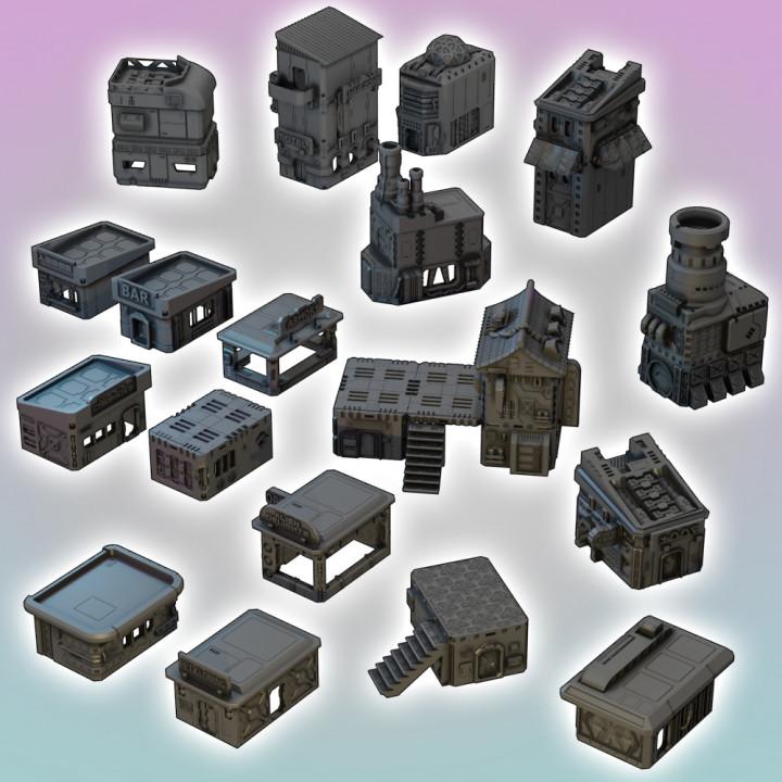 Flatline City: Core Set (Modular Buildings)'s Cover