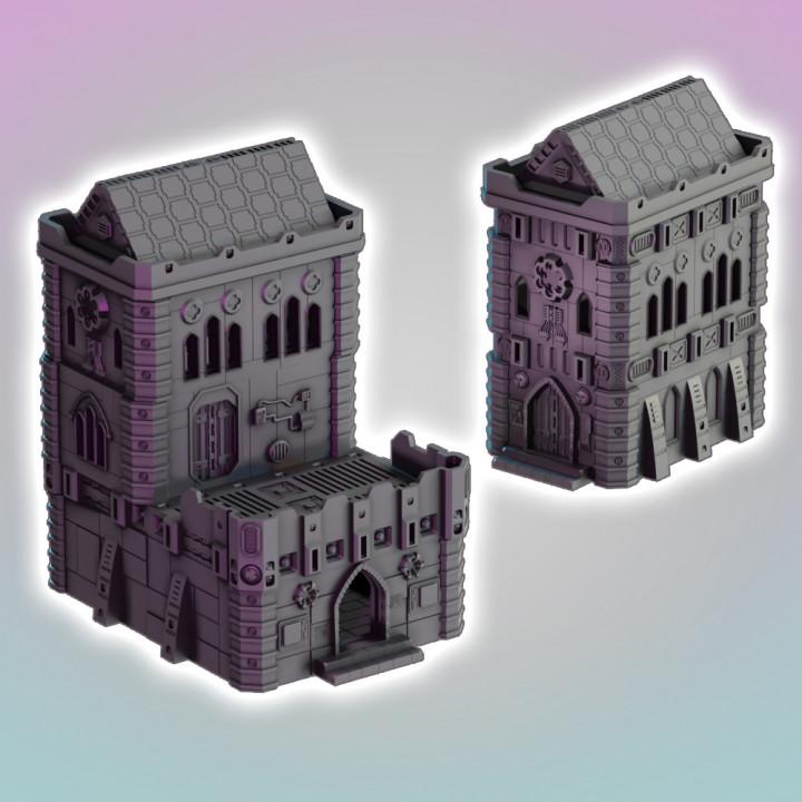 Flatline City: Gothic Sanctuary's Cover