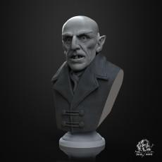 Nosferatu Bust (Pre-Supported)