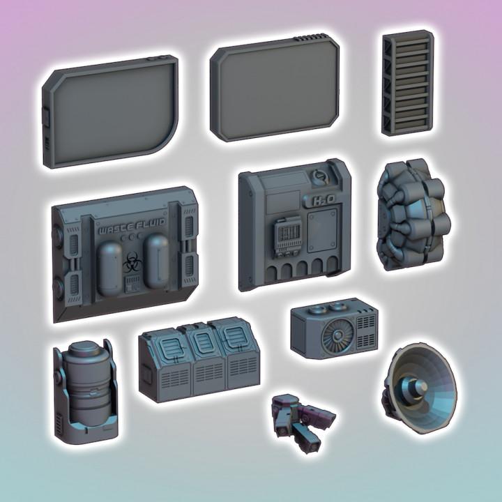 Flatline City: Exterior Wall Accessories (OpenLock Compatible)'s Cover