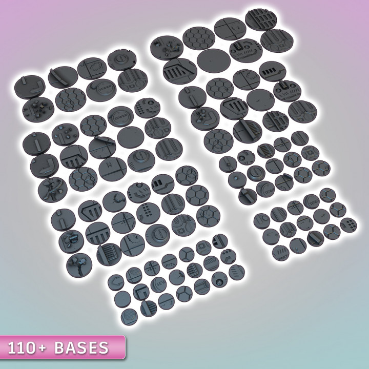 City & Industrial Bases 25-70mm Bundle's Cover