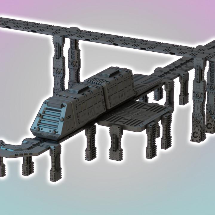 Flatline City: Transit System's Cover