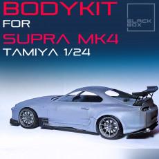 SUPRA MK4 BODYKIT BB01 For TAMIYA 1/24 MODELKIT