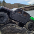 CGRC front and rear fender deletes for Axial SCX10-3 Jeep Gladiator image