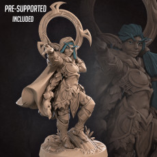 Eve, the Rogue Night Elf (2 Versions) (CURRENT RELEASE)