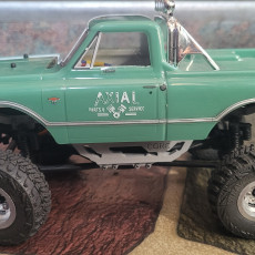 CGRC Axial SCX24 Mega Chassis