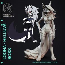 Loona - Helluva Boss - 15cm model - Fanart